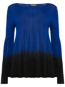 Phase Eight Dafne Dip Dye Knitted Jumper