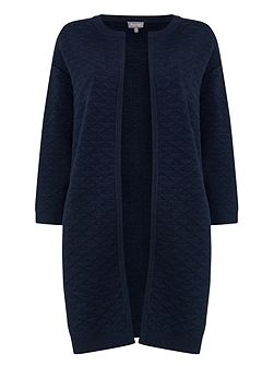 Luisa Texture Knitted Coat