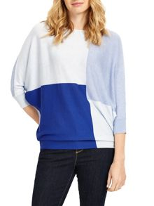 Phase Eight Colourblock Becca Batwing Jumper