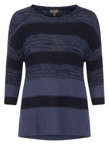 Phase Eight Annah Subtle Stripe Knitted Jumper