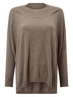 Andria Envelope Neck Knitted Jumper