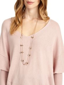 Phase Eight Victoria Double Layer Necklace