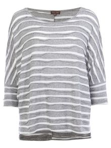 Phase Eight Wanda Wave Stripe Top