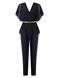 Blossom Belted Jumpsuit