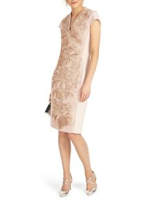 Phase Eight Laurie Embroidered Dress