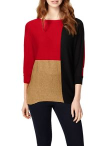Phase Eight Colour Block Becca Batwing