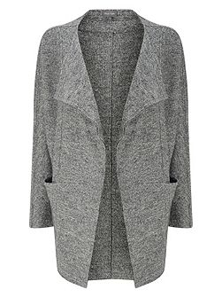 Fausta Fleck Knitted Coat
