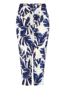 Phase Eight Pia Print Trousers