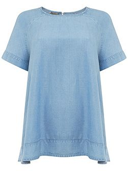Alissia Chambray Blouse