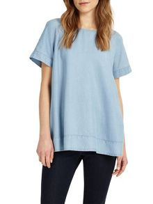 Phase Eight Alissia Chambray Blouse