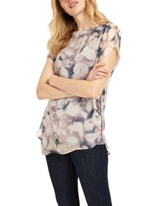 Phase Eight Davina Print Blouse