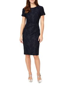 Phase Eight Feather Jacquard Dress