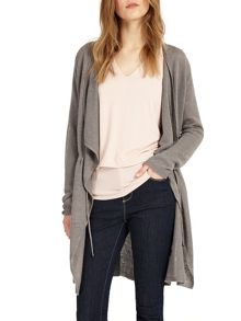 Phase Eight Abree Longline Linen Cardigan