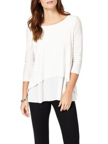 Phase Eight Leela 3/4 Sleeve Top