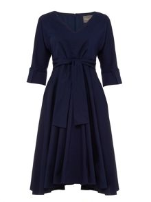 Phase Eight Taylor Tie Front Dress