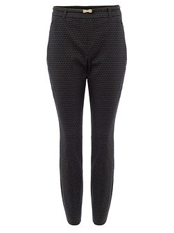 Alice Scale Jacquard Trousers