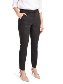 Phase Eight Alice Scale Jacquard Trousers