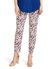 Phase Eight Erica Floral Jacquared Trousers