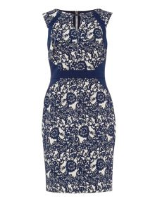 Phase Eight Annie Jacquard Dress