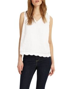 Phase Eight Darcie Scallop Top