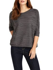 Phase Eight Wendy Wave Textured Top