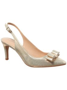 Phase Eight Lotty Leather Court Shoes