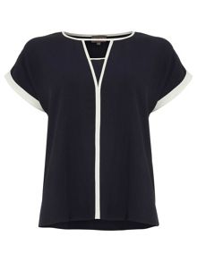 Phase Eight Remi Contrast Blouse