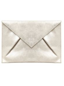 Phase Eight Samara Suede Clutch