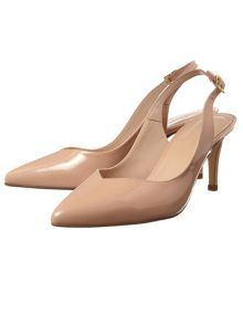 Phase Eight Amara Leather Slingback Shoes