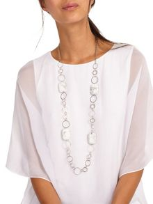 Phase Eight Aurelia Marble Ring Necklace