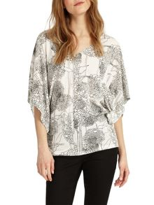 Phase Eight Alium Print Top