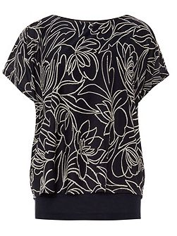 Jacquard Double Layer Cecily Top