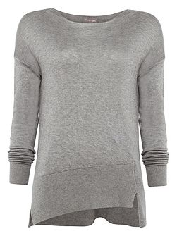 Leanna Asymmetric Knitted Jumper