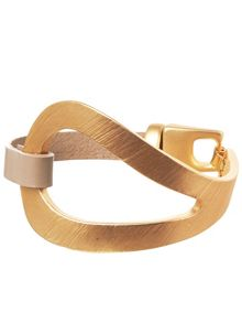 Phase Eight Silvie Leather Cuff