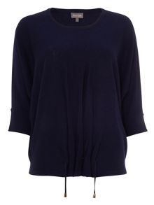 Phase Eight Raakel Ruch Front Knitted Top