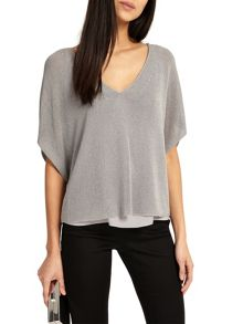 Phase Eight Imelda Double Layer Knitted Top