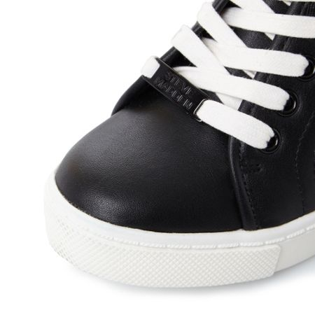 Steve Madden Lussious lace up wedge trainers