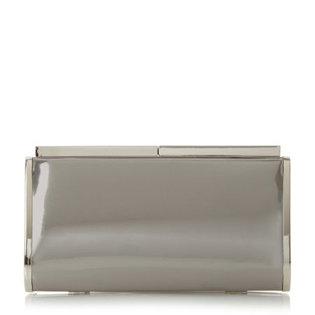 Dune Bazzle hard case clutch bag