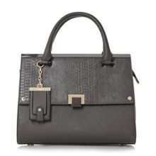 Dune Donovan structured flap over bag