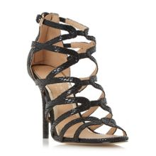 Head Over Heels Memi caged sandals
