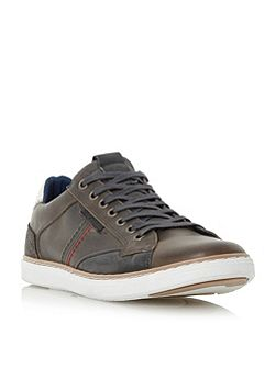 Tailored side stitch sneakers