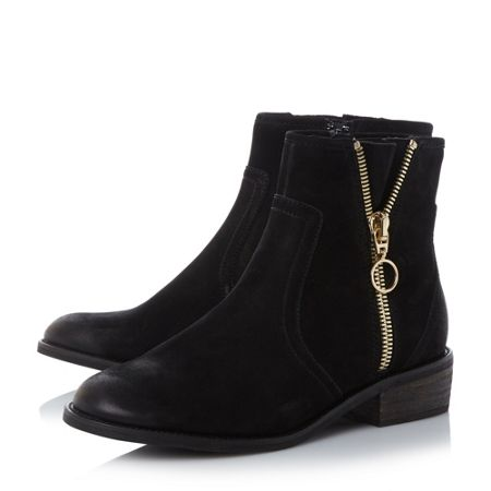 Steve Madden Chance zip detail ankle boots