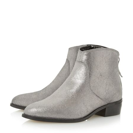 Dune Pearcey long point ankle boots