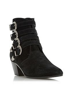 Ormond multi western style ankle boots