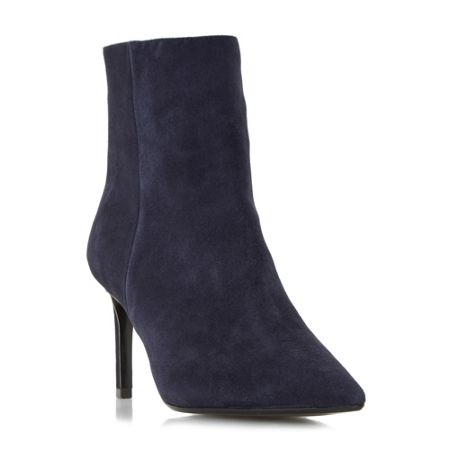 Dune Oralie pointed toe mid heel ankle boots