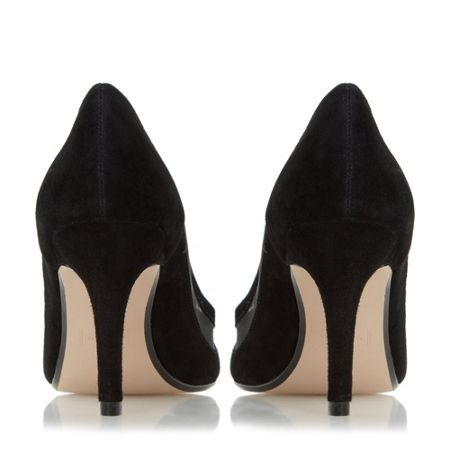 Dune Bunnie scallop pointed toe court shoes
