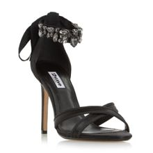 Dune Morgen jewel ankle strap sandals