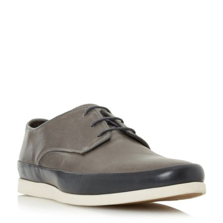 Bertie Breezy contrast tand lace up shoes