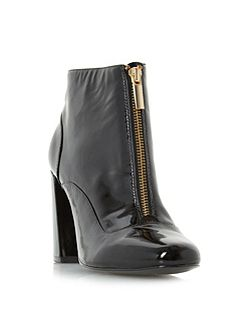 Oldwych front zip ankle boots