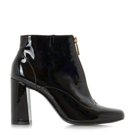 Dune Oldwych front zip ankle boots